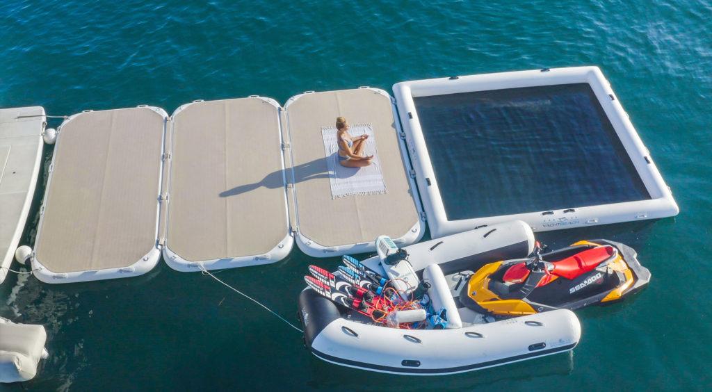 В России началась продажа платформ для яхт и отдыха на воде Yachtbeach